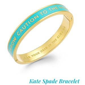Kate Spade ♠️Throw Caution to the Wind Bracelet